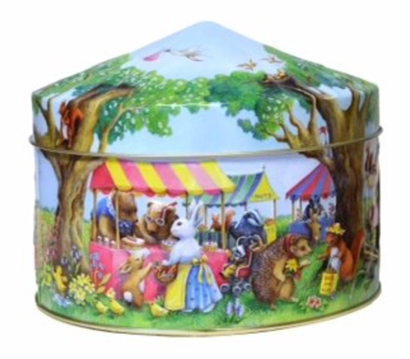 Churchill's Woodland Fair tin 400g 12bl.NIEUW