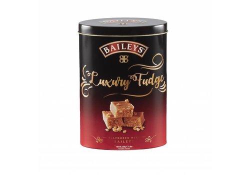 Gardiners Baileys fudge 250g tin 12bl. NIEUW