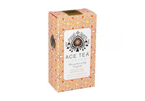 Ace Tea Ace Tea Breakfast Marmalade Tea Carton - 15 Tea Stockings 10st