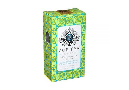 Ace Tea Ace Tea Summer Festival Fruity Green Tea Carton - 15 Tea Stockings 10st