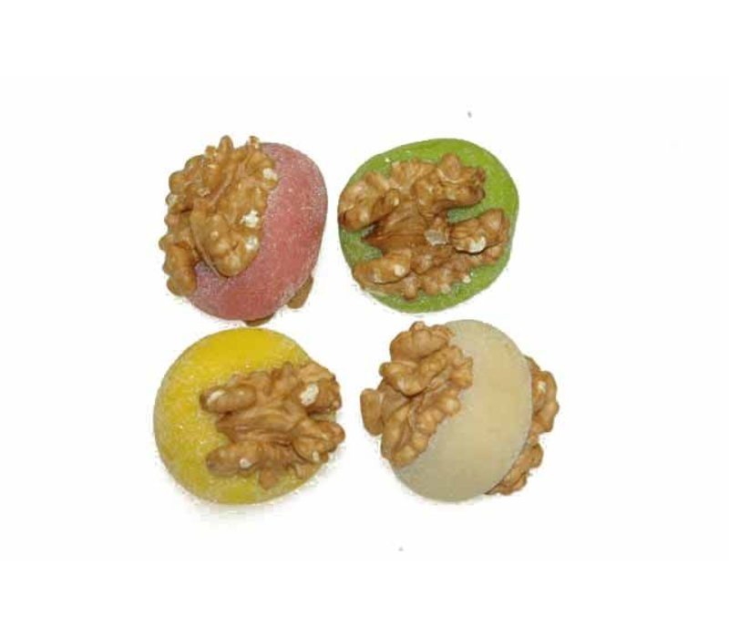 Marsepein Tosca's walnoten 2 noten ass 3,5kg