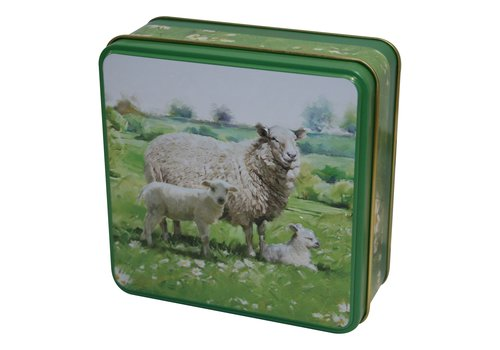 Grandma Wild's Embossed Sheep in the Country Tin 100g 12st