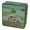 Grandma Wild's Embossed Pigs in the Country Tin 100g 12st