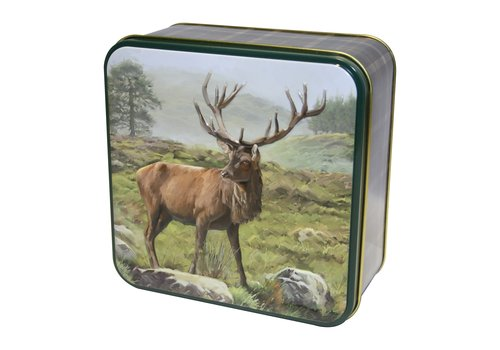 Embossed Stag Tin 160g 6st