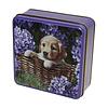 Grandma Wild's Embossed Puppy in a BasketTin 100g 12st