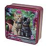 Grandma Wild's Embossed Ginger & Tabby Kitten Tin 100g 12st