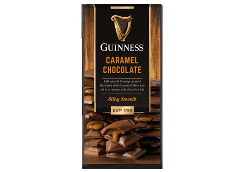 LIR Chocolates Guinness Caramel bar 90g 15st