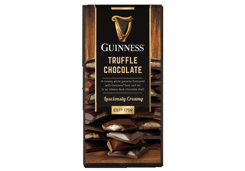 LIR Chocolates Guinness Truffle bar 90g 15st