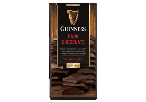 LIR Chocolates Guinness Dark chocolate bar 90g 15st