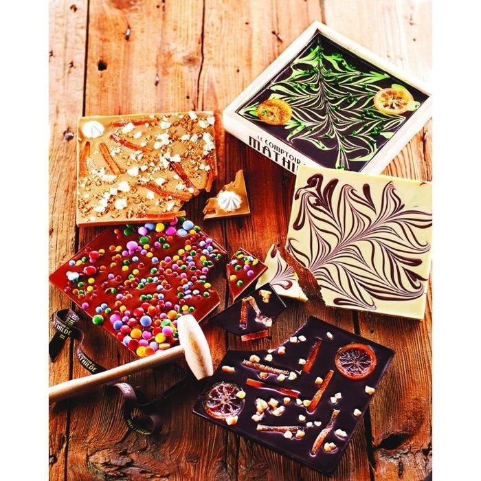 Kistje Chocolade met hamer
