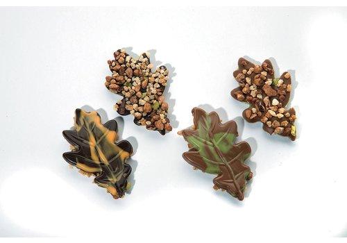 Nutty oak leaves ass m/p + notenmelange onderkant 8g 1,6kg