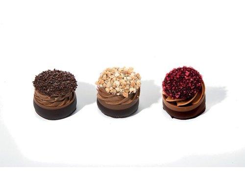 Crunchy cups assorti 3 varianten 17g 2kg