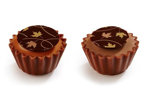 Herfstblaadjes cupcakes 1,3kg
