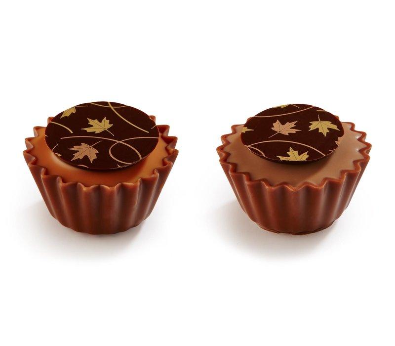 Herfstblaadjes cupcakes 15,5g 1,3kg