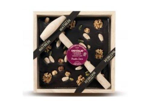 Le Comptoir de Mathilde Chocolats a Casser Fruits Secs 400g 4st