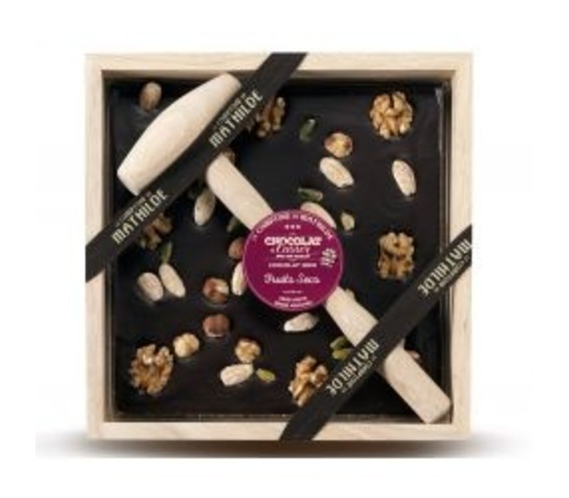 Chocolats a Casser Fruits Secs 400g 4st