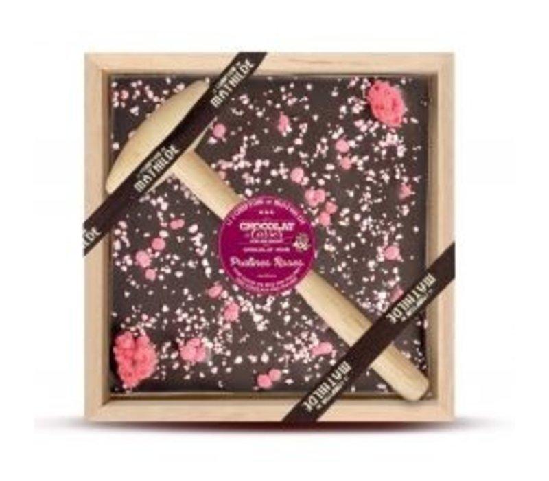 Chocolats a Casser Pralines Roses de Lyon 400g 4st