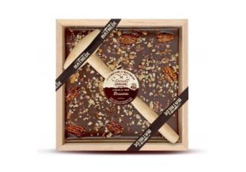 Le Comptoir de Mathilde Chocolats a Casser Brownie 400g 4st