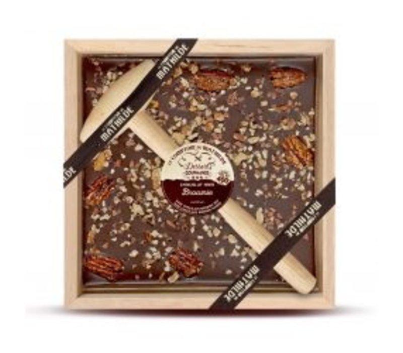 Chocolats a Casser Brownie 400g 4st