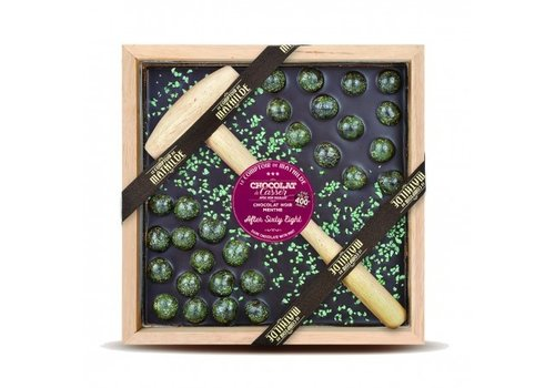 Le Comptoir de Mathilde Chocolats a Casser After sixty Eight chocolat menthe 400g 4st