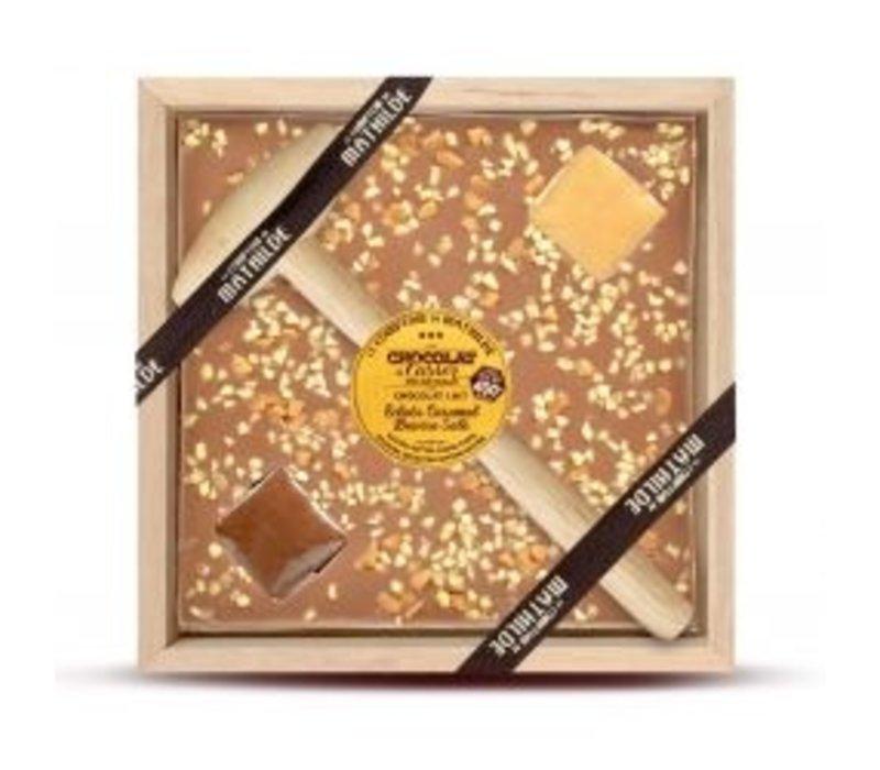 Chocolats a Casser Éclats Caramel Beurre Salé 400g 4st