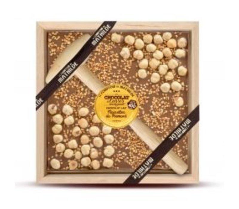 Chocolats a Casser Noisettes du Piémont 400g 4st