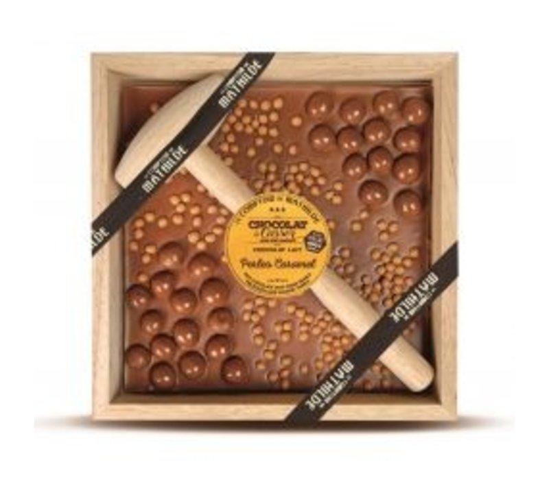 Chocolats a Casser Perles Caramel 400g 4st