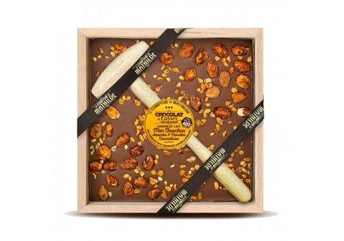 Le Comptoir de Mathilde Chocolats a Casser Mon chouchou lait amandes noisettes 400g 4st