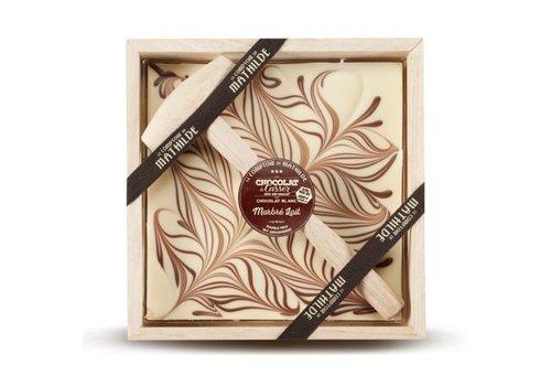 Le Comptoir de Mathilde Chocolats a Casser Marbré Lait 400g 4st