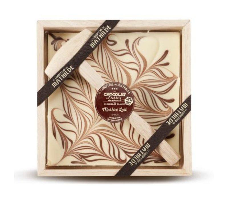 Chocolats a Casser Marbré Lait 400g 4st