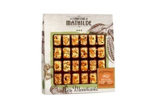 Le Comptoir de Mathilde Mendiants Lait duo de caramel 240g 6st