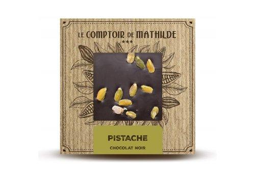 Le Comptoir de Mathilde Tablettes de chocolats Pistaches 80g 12st