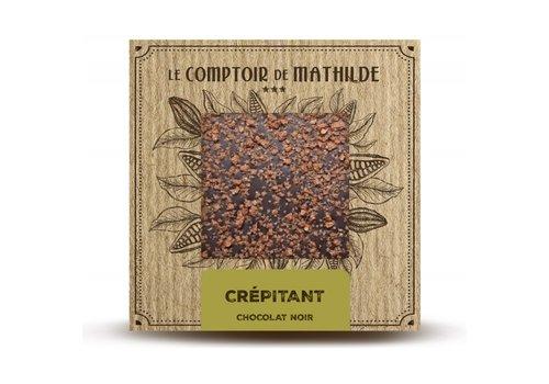 Le Comptoir de Mathilde Tablettes de chocolats Crépitant (Pétillant) 80g 12st