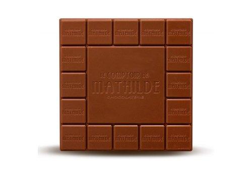 Le Comptoir de Mathilde Tablettes de chocolats Nature 33 % Cacao 80g 12st