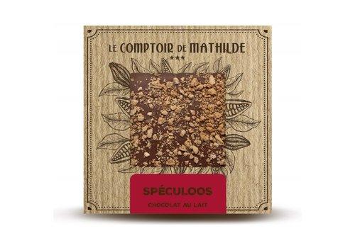 Le Comptoir de Mathilde Tablettes de chocolats Spéculoos 80g 12st