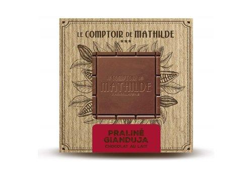 Le Comptoir de Mathilde Tablettes de chocolats Pralinés « Gianduja » 80g 12st