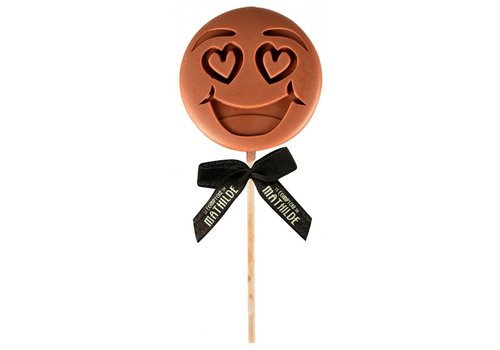 Le Comptoir de Mathilde Lolly I LOVE U emotichoc 40g 12st