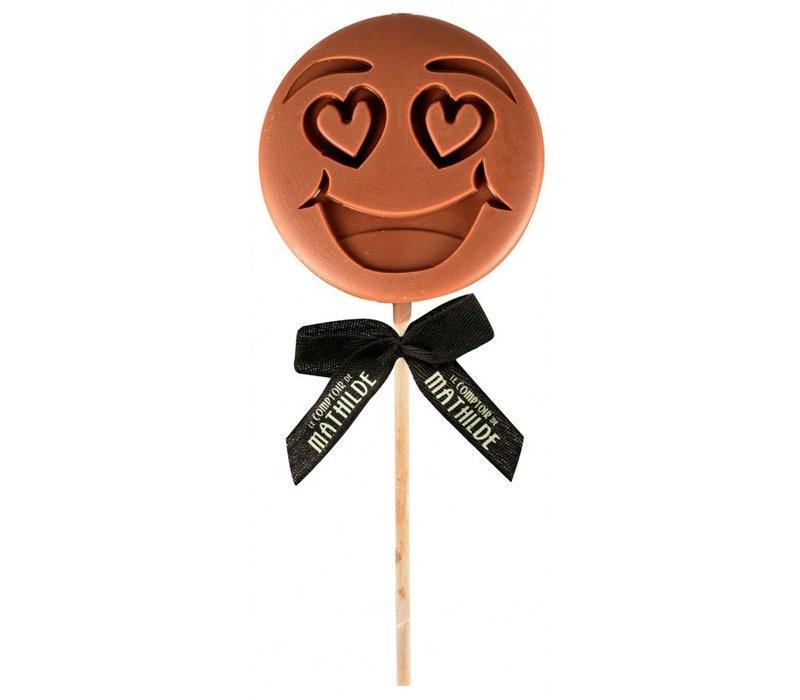 Lolly I LOVE U emotichoc 40g 12st