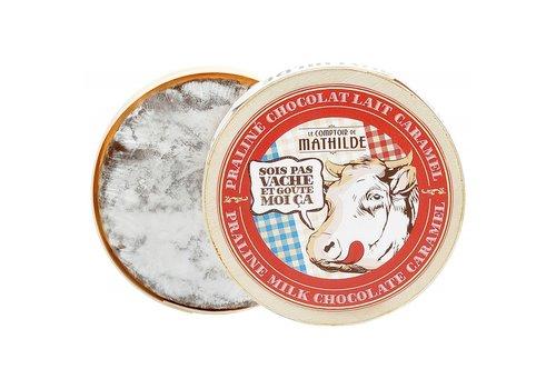 Le Comptoir de Mathilde Camembert lait praliné et caramel 150g 12st