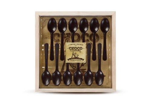 Le Comptoir de Mathilde Choco'spoons Noir (Coffret 12 cuillères) 6st