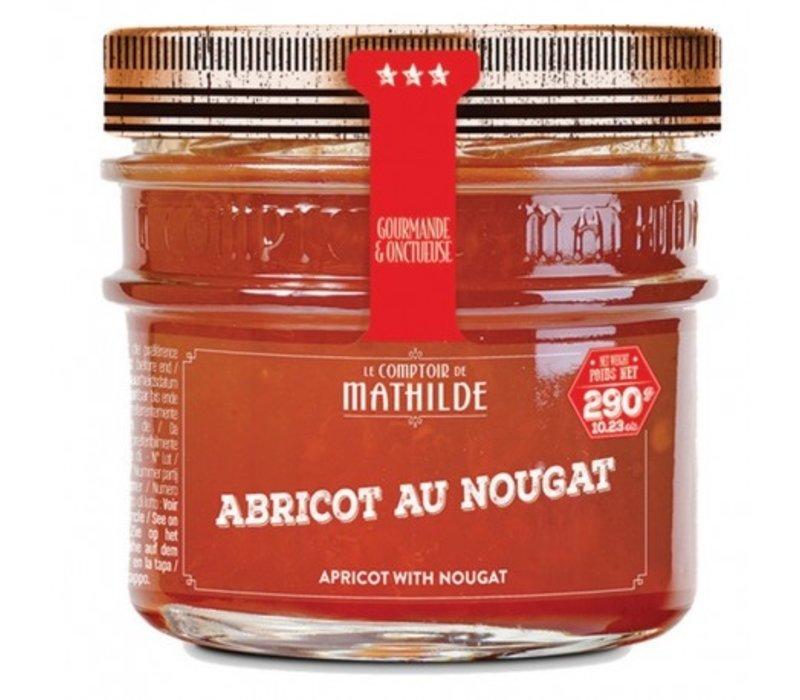 Confitures Abricot au Nougat 290g 12st