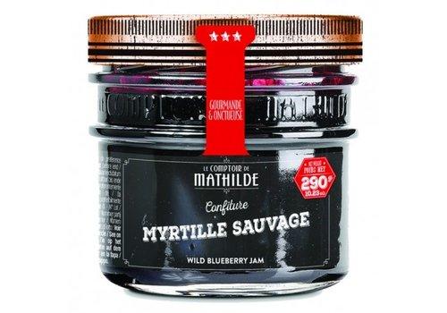 Le Comptoir de Mathilde Confitures Myrtille Sauvage 290g 12st