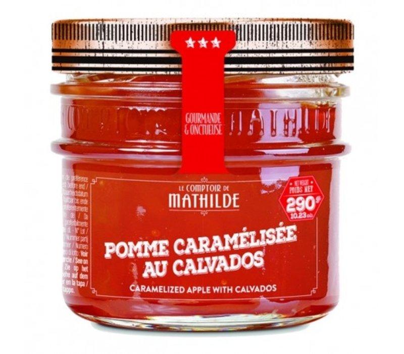 Confitures Pomme Caramélisée au Calvados 290g 12st
