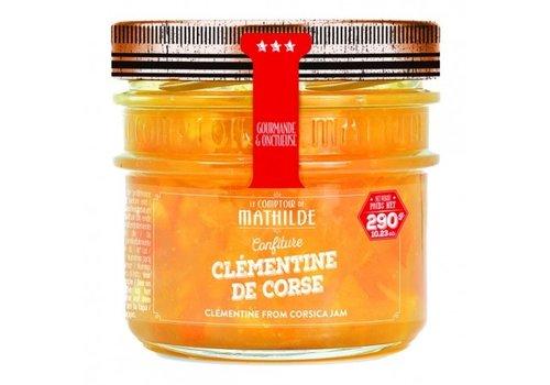 Le Comptoir de Mathilde Confitures Clémentine de Corse 290g 12st