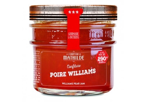Le Comptoir de Mathilde Confitures Poire Williams 290g 12st