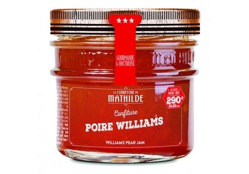 Le Comptoir de Mathilde Confitures Poire Williams 290g 12st