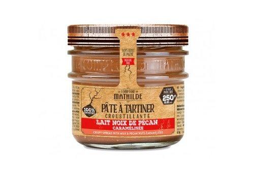 Le Comptoir de Mathilde Pate a tartiner Lait noix de pécan caramélisée 250g 12st