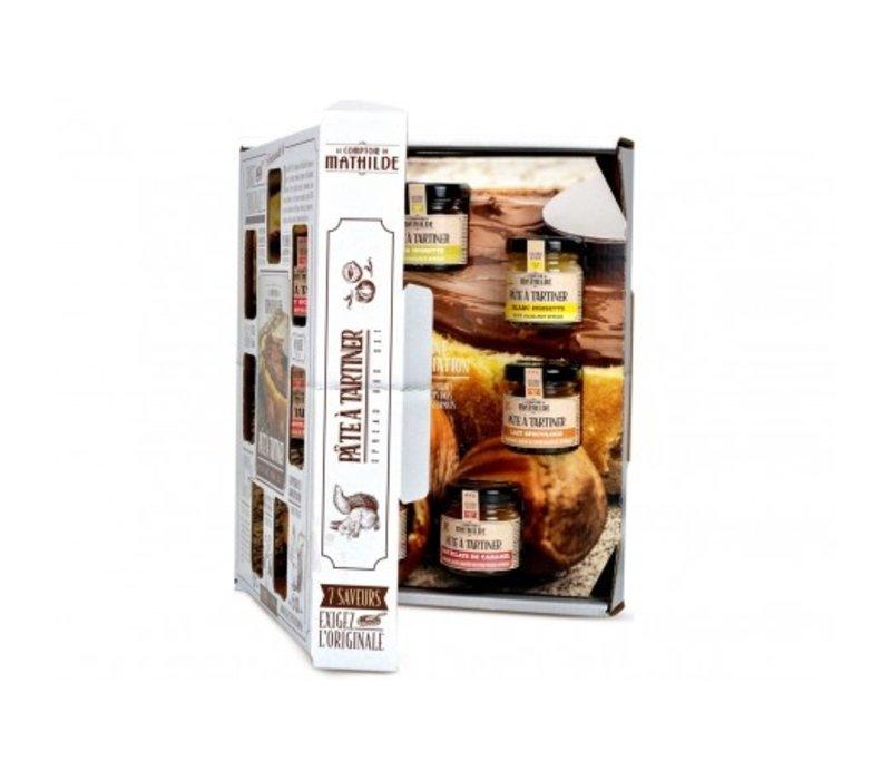 Confrets Le Semainier Pâtes à Tartiner 7x30g 6st