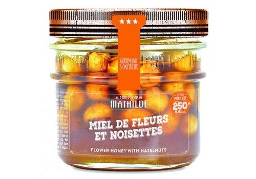 Le Comptoir de Mathilde Miel De Fleurs et noisettes 250g 12st