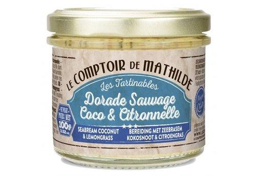 Le Comptoir de Mathilde Tartinables de la mer Duo de saumons 90g 12st
